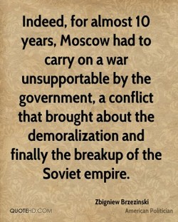 Indeed, for almost 10 