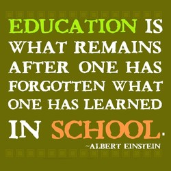 EDUCATION IS 