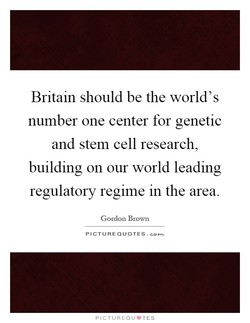 Britain should be the world's 
