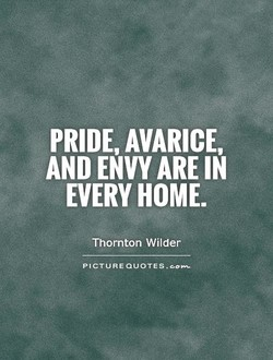 PRIDE, AVARICE, 