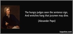 The hungry judges soon the sentence sign, 