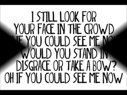 I STILL LOOK FOR 