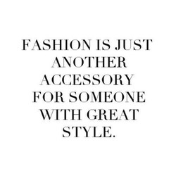 FASHION IS JUST 