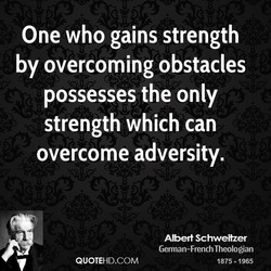 One who gains strength 