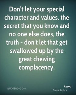 Don't let your special 