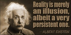 Reality is merely 