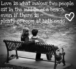 Love is what makes_two people 
