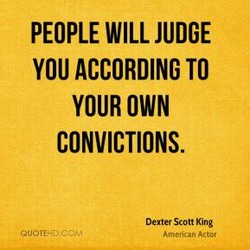 PEOPLE WILL JUDGE 