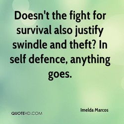 Doesn't the fight for 
