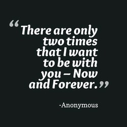 There are only 