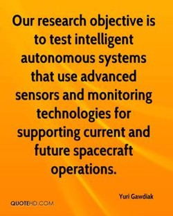 Our research objective is 