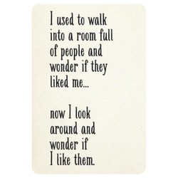 I used to walk 