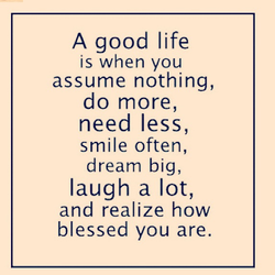 A good life 