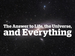 The Answer to Life, the Universe, and Evérything