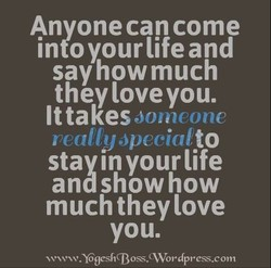 Anyone can come 