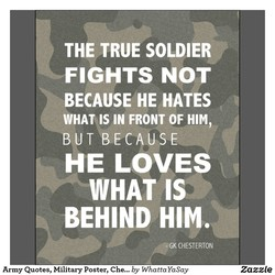 THE TRUE SOLDIER 