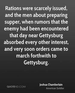 Rations were scarcely issued, 