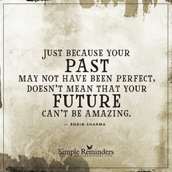 JUST BECAUSE YOUR 