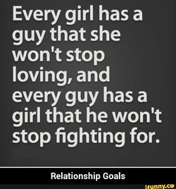 Every girl has a 