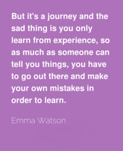 But it's a journey and the 