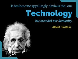 It has become appallingly obvious that our 