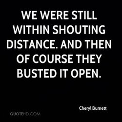 WE WERE STILL 
