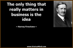 The only thing that 