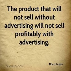 The product that will 