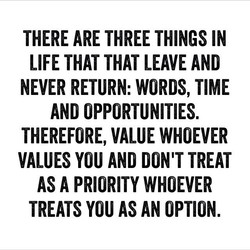 THERE ARE THREE THINGS IN 