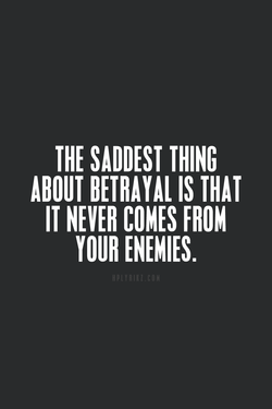 THE SADDEST THING 