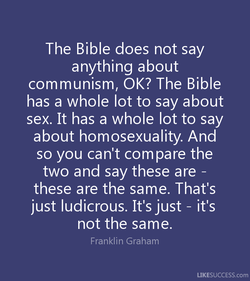 The Bible does not say 