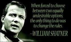 When forced to choose 