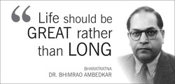 Life should be 
