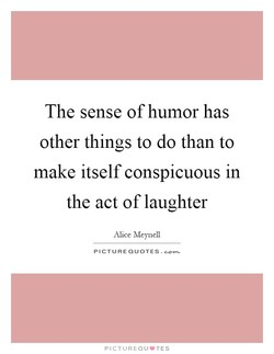 The sense of humor has 