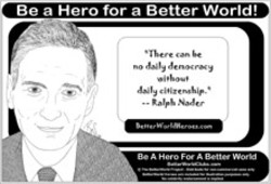 Be a Hero for a Better World!