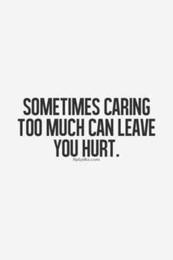 SOMETIMES CARING 