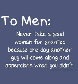 To Men: 