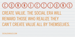 CREATE VALUE. THE SOCIAL ERA WILL 