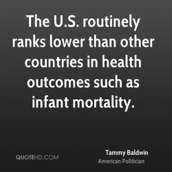 The US. routinely 