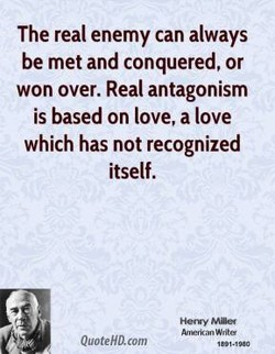 The real enemy can always 