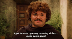 I get to wake up every morning at 5am."