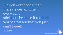 Did you ever notice that 