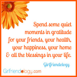 Spend oome quiet 