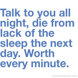 Talk to you all 