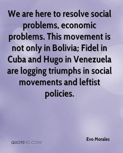 We are here to resolve social 