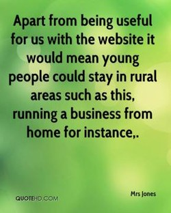 Apart from being useful 