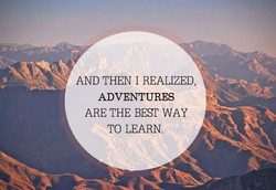 AND THEN 1 REALIZED, 