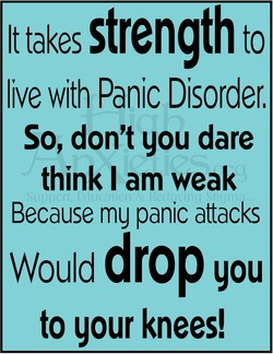 It takes strength to 