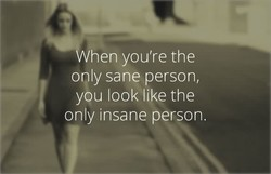 hen you're the 