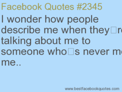 Facebook Quotes #2345 